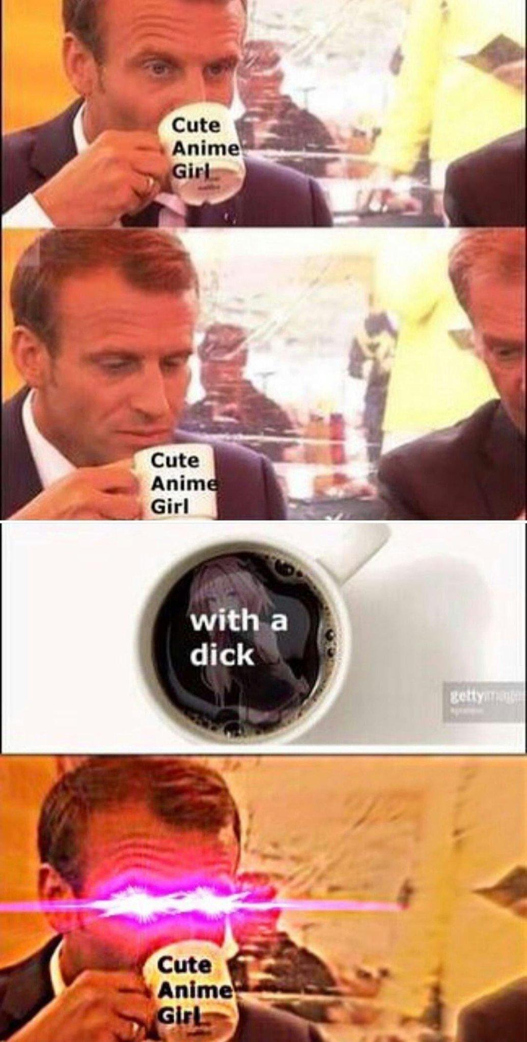 Emmanuel Macaron - meme
