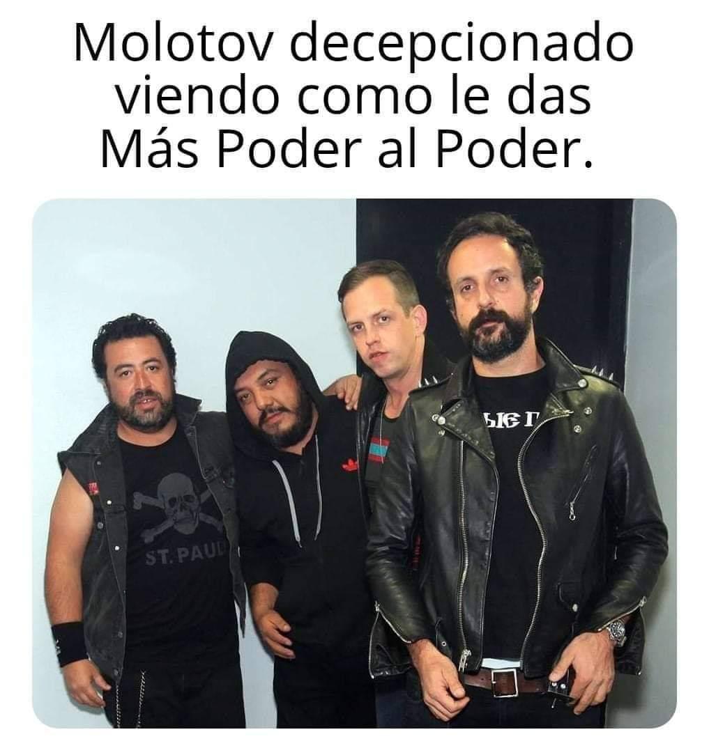 Molotov qliaos - meme