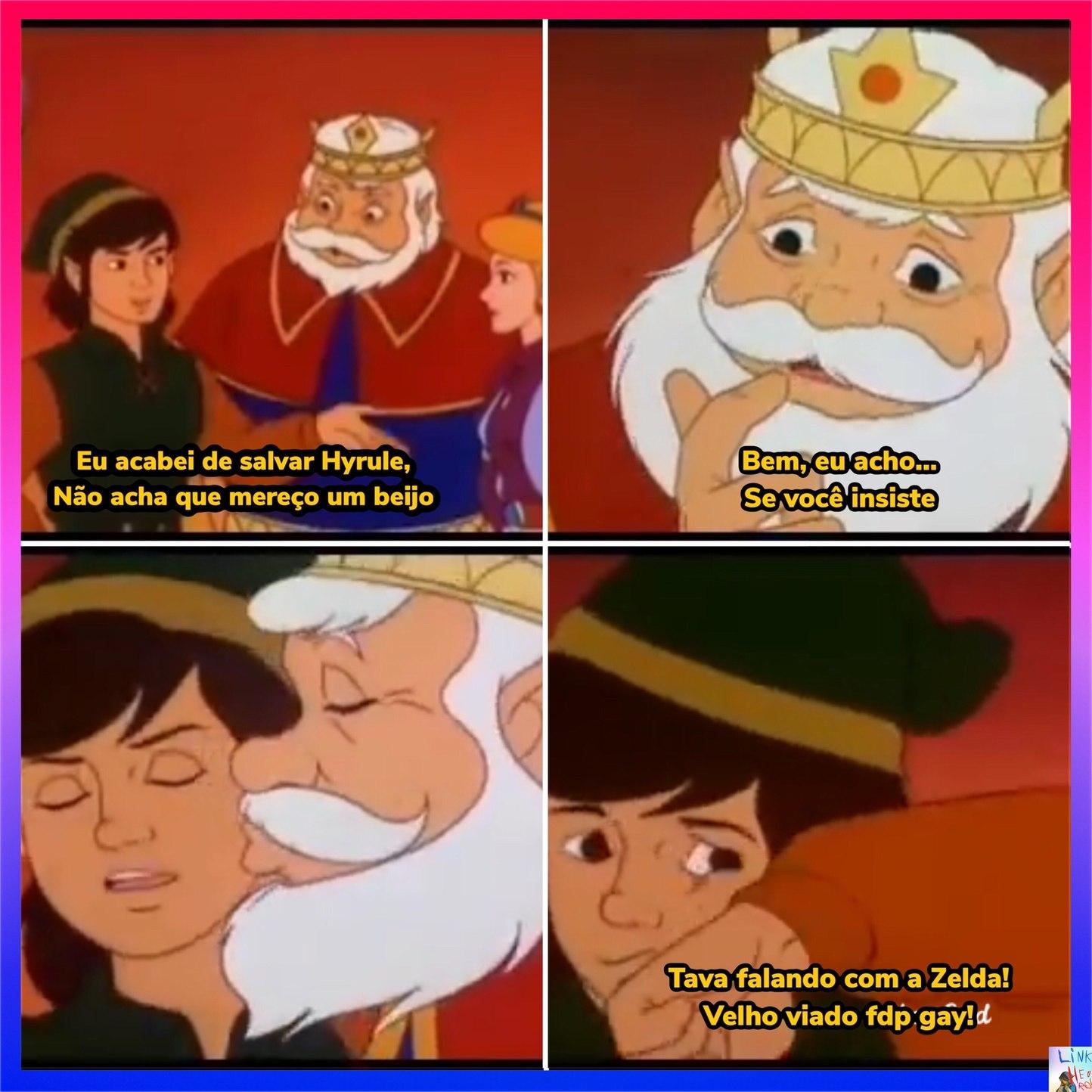 Seria Link um Homi fobia Cu? - meme