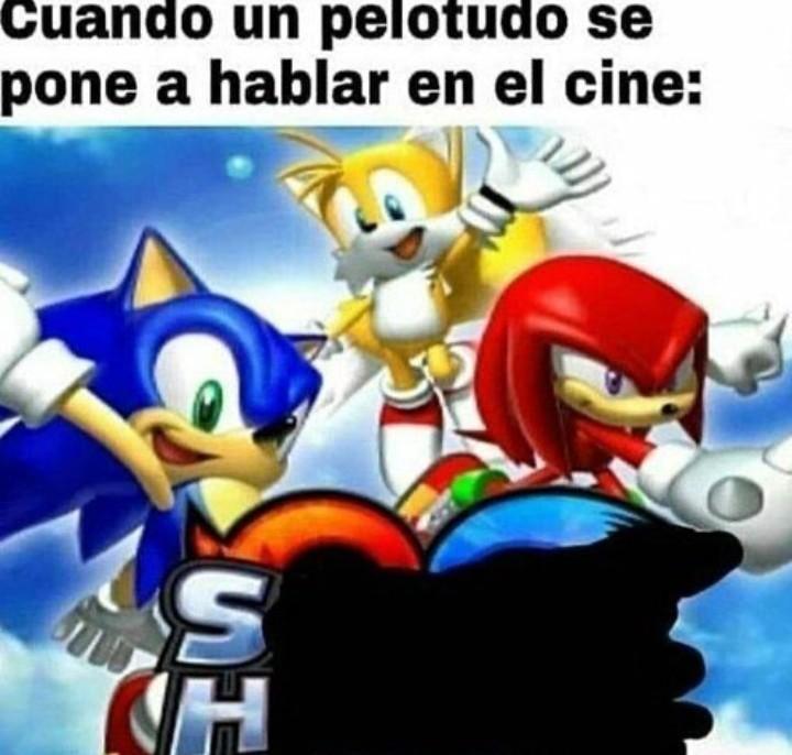 Sonic héroes - meme