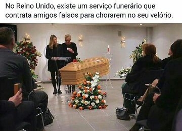 Alguém se identifica com o morto? - meme