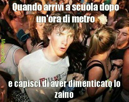 Scuola - meme