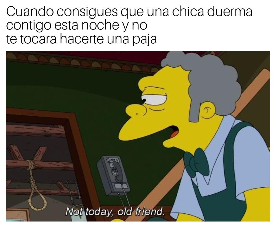 Hoy no toca - meme