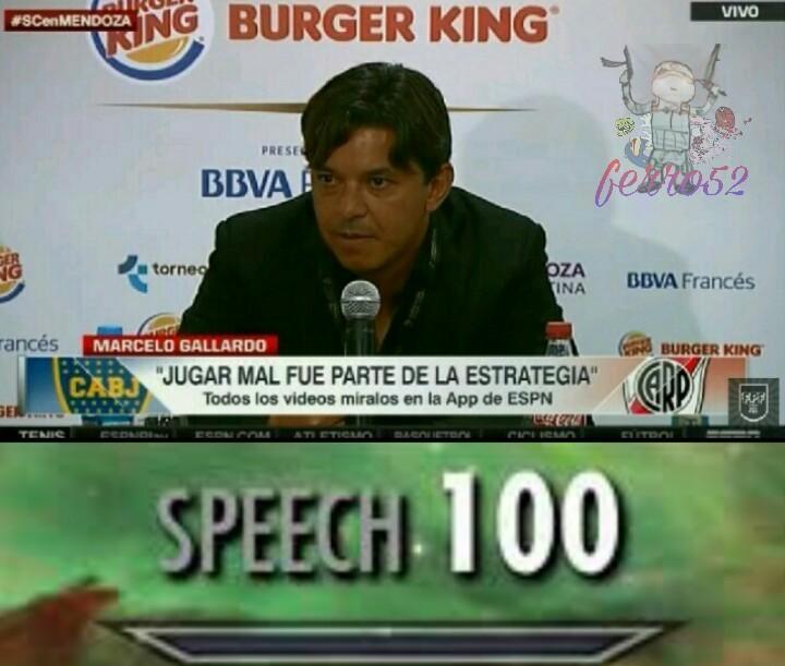 Speech significa discurso - meme