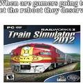 Watch dat train go