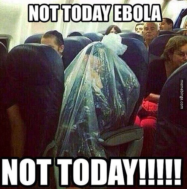 Image result for ebola tent meme