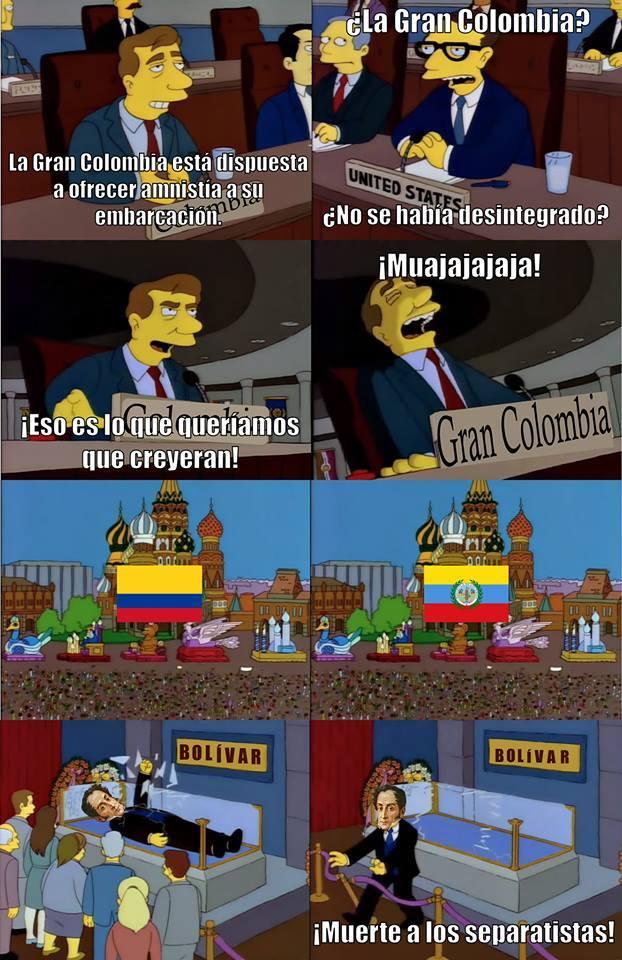Simon Bolivar - meme