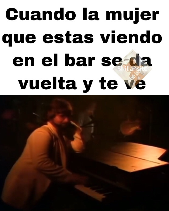 bar disco, lo que sea - meme