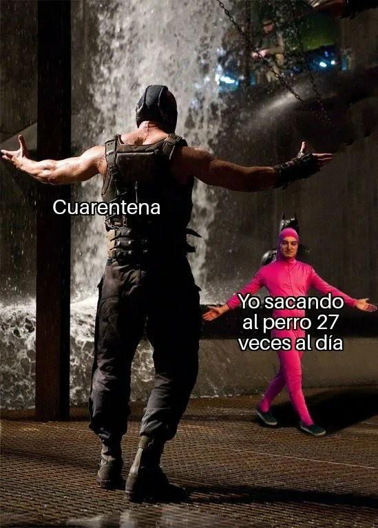 Cuarentena - meme