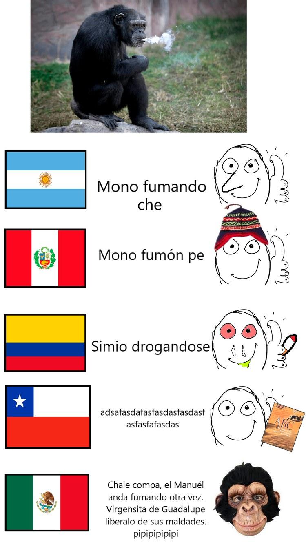 Mexichangos, que llueva el hate - meme