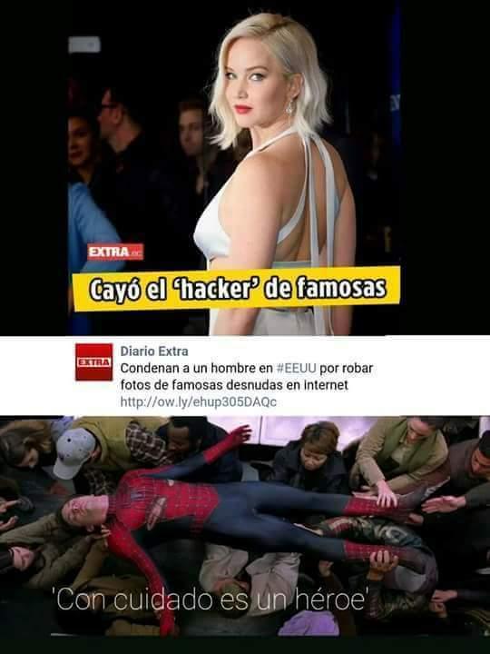 Ese si es un héroe sin capa xd - meme