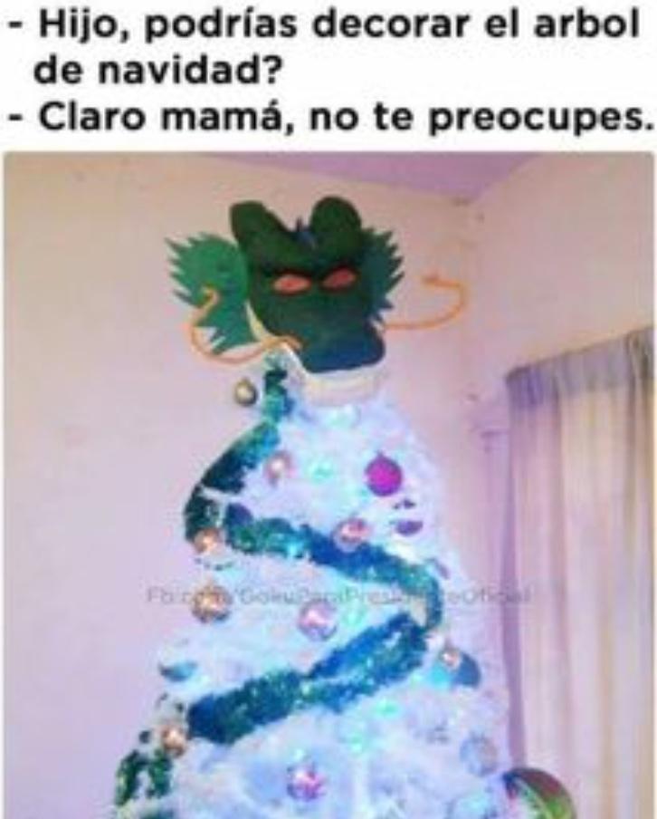 She Ron navideño - meme