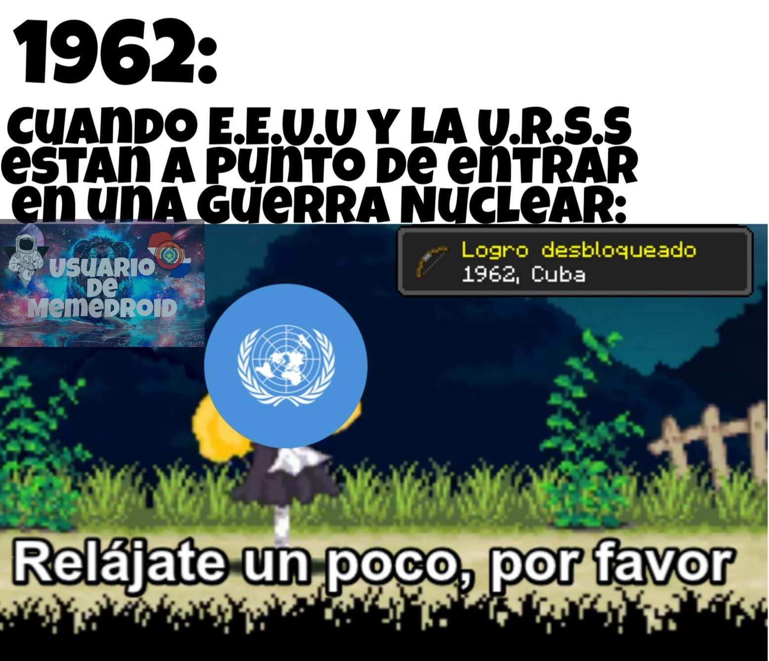 1962: Crisis de los Misiles - meme