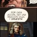 Newton entendió esa referencia