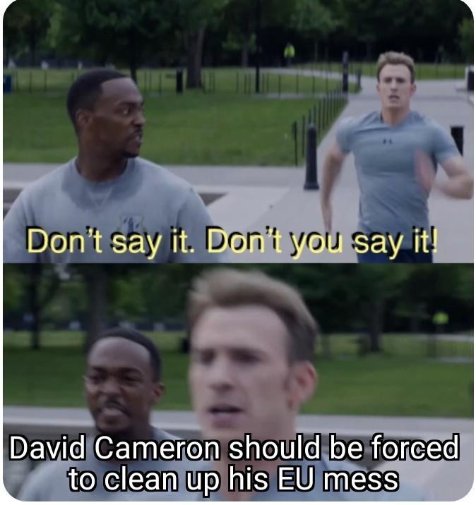 Solve brexit - meme