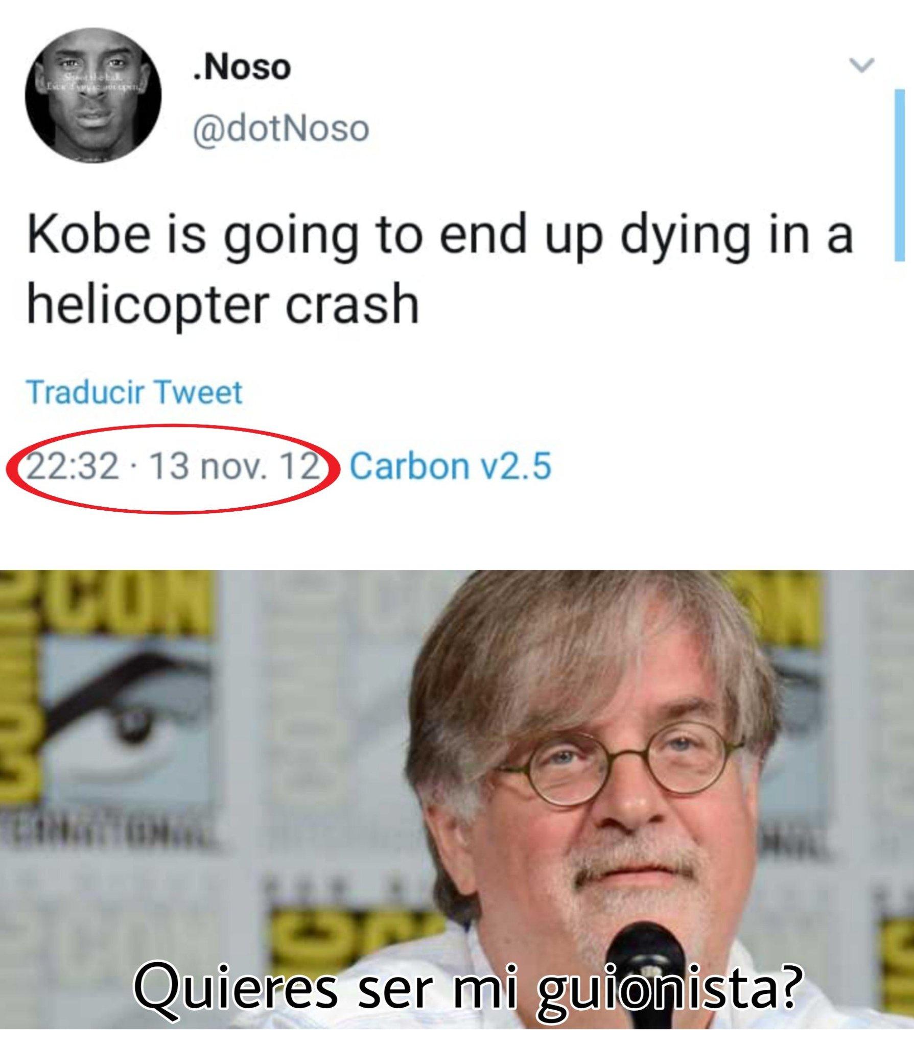 Dep Kobe, un grande - meme