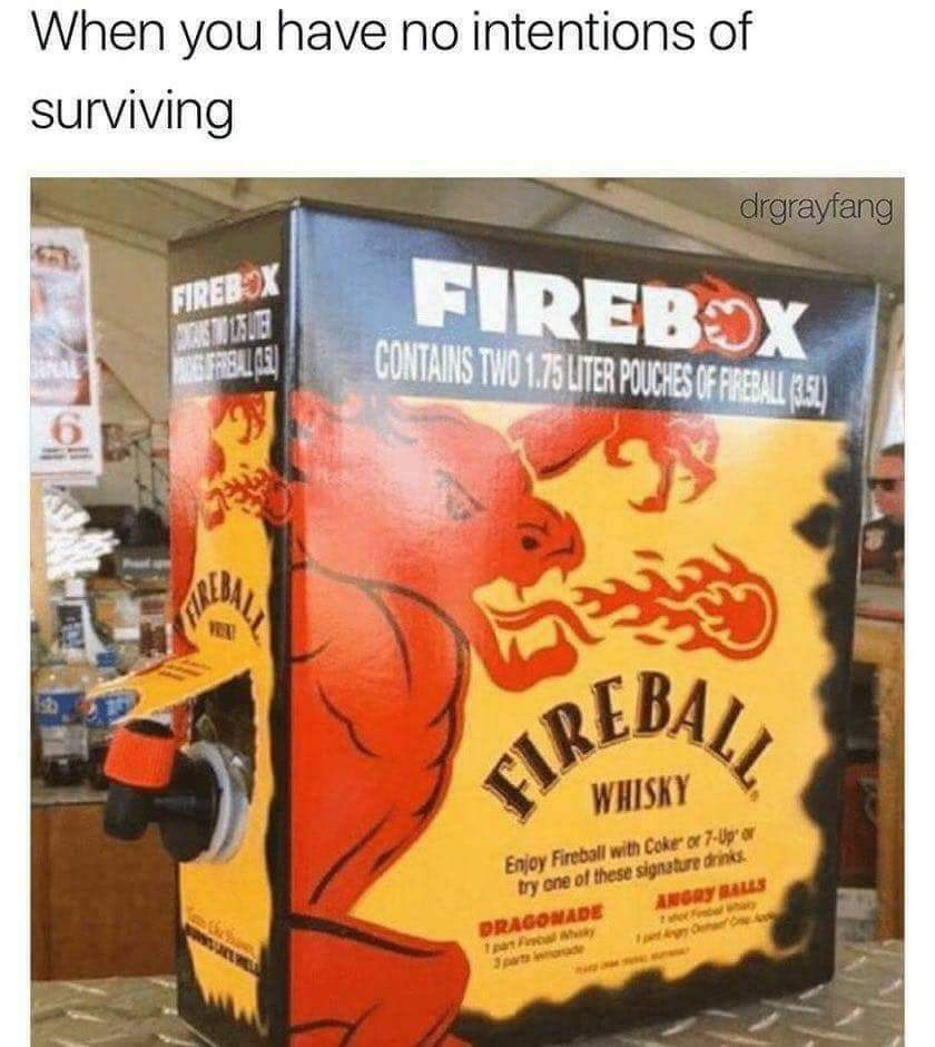 Fireball - meme