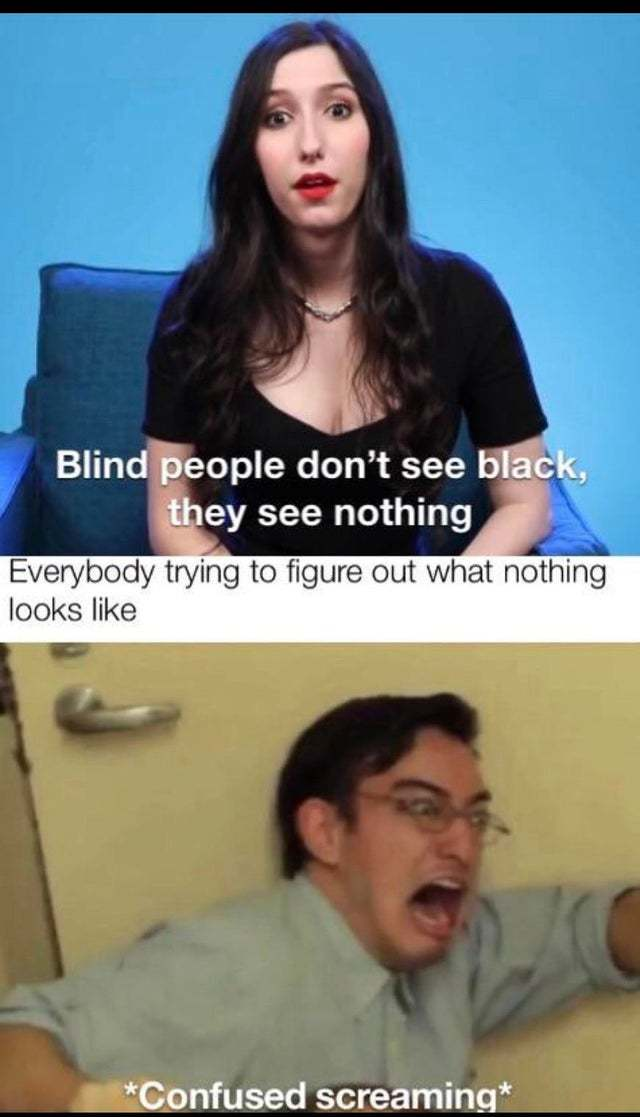blindness - meme