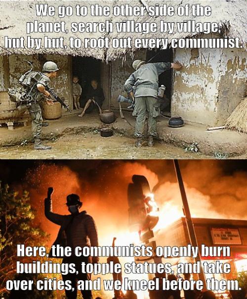 The enemy inside the gates. - meme