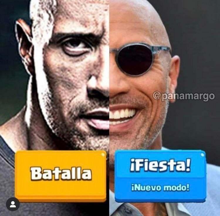 La roca - meme