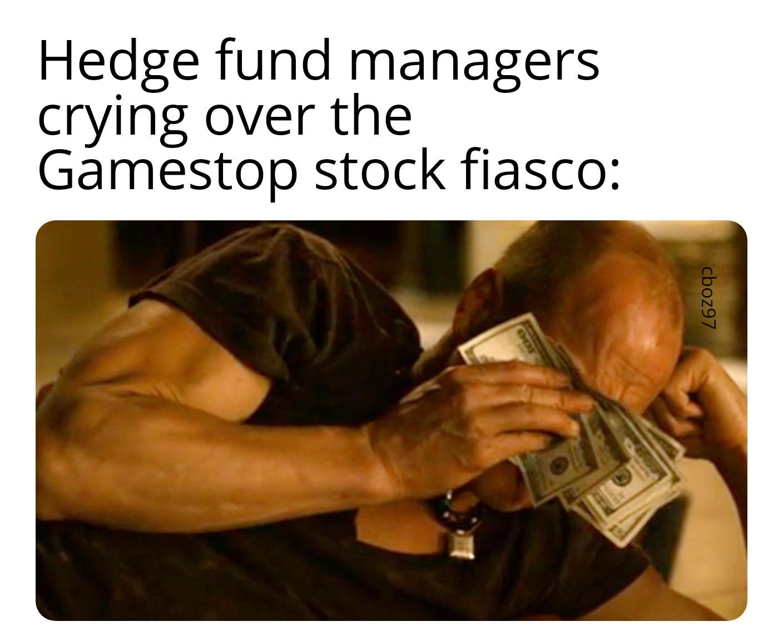 Wall Street can burn - meme