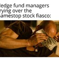Wall Street can burn