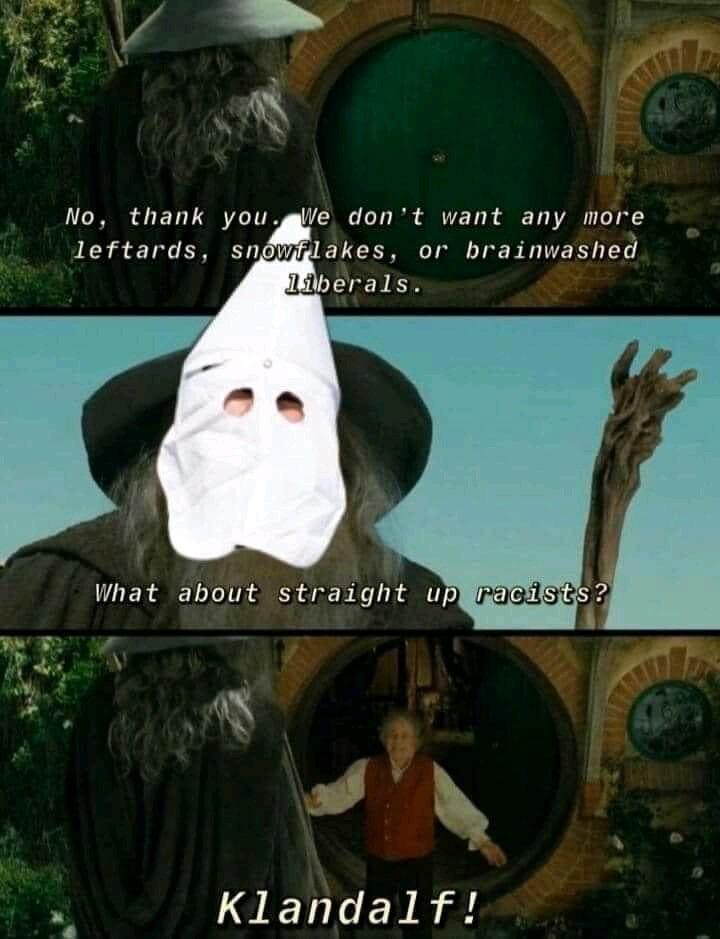 Klandalf The White - meme