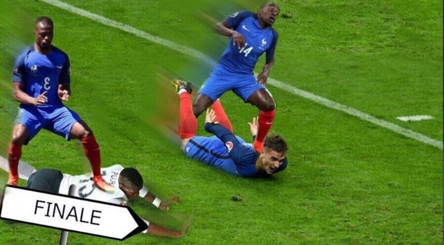 Portugal vs France - meme