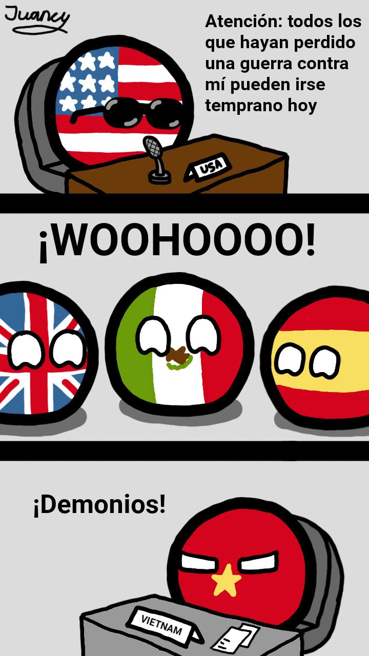 Maldito gringo rencoroso - meme