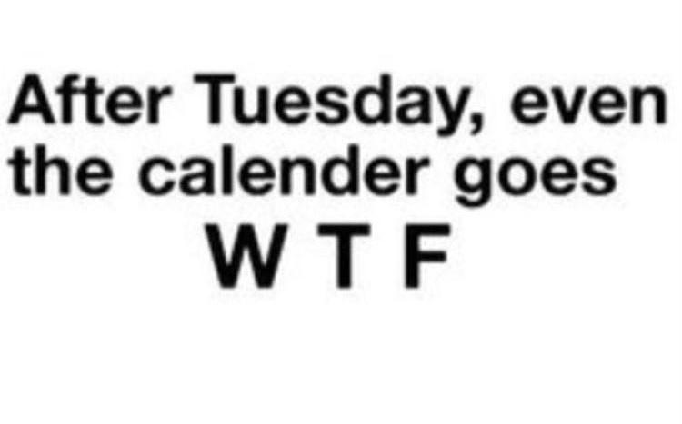 calendar - meme