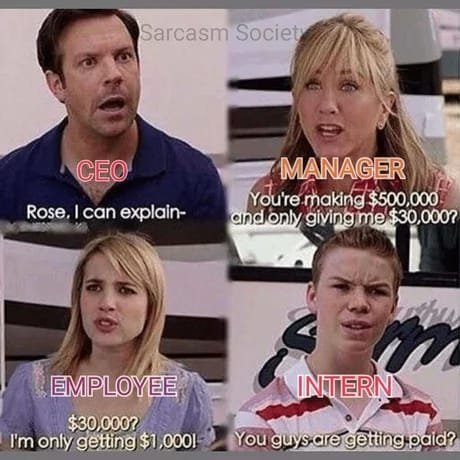 Work scenario - meme