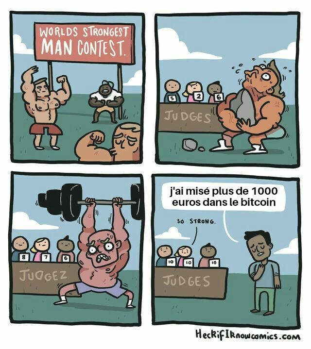 Il est très très fort - meme