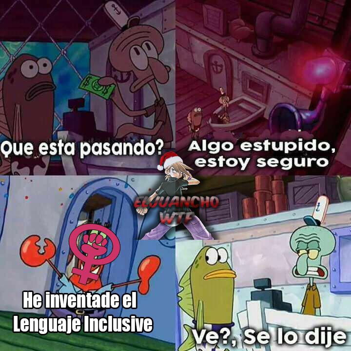 lenguaje inclusive - meme