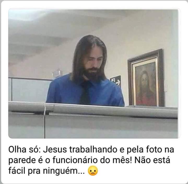 Até jesus - meme