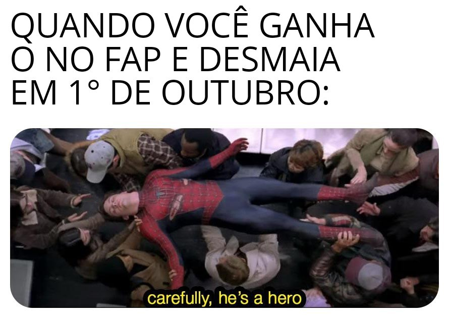 Grande herói - meme