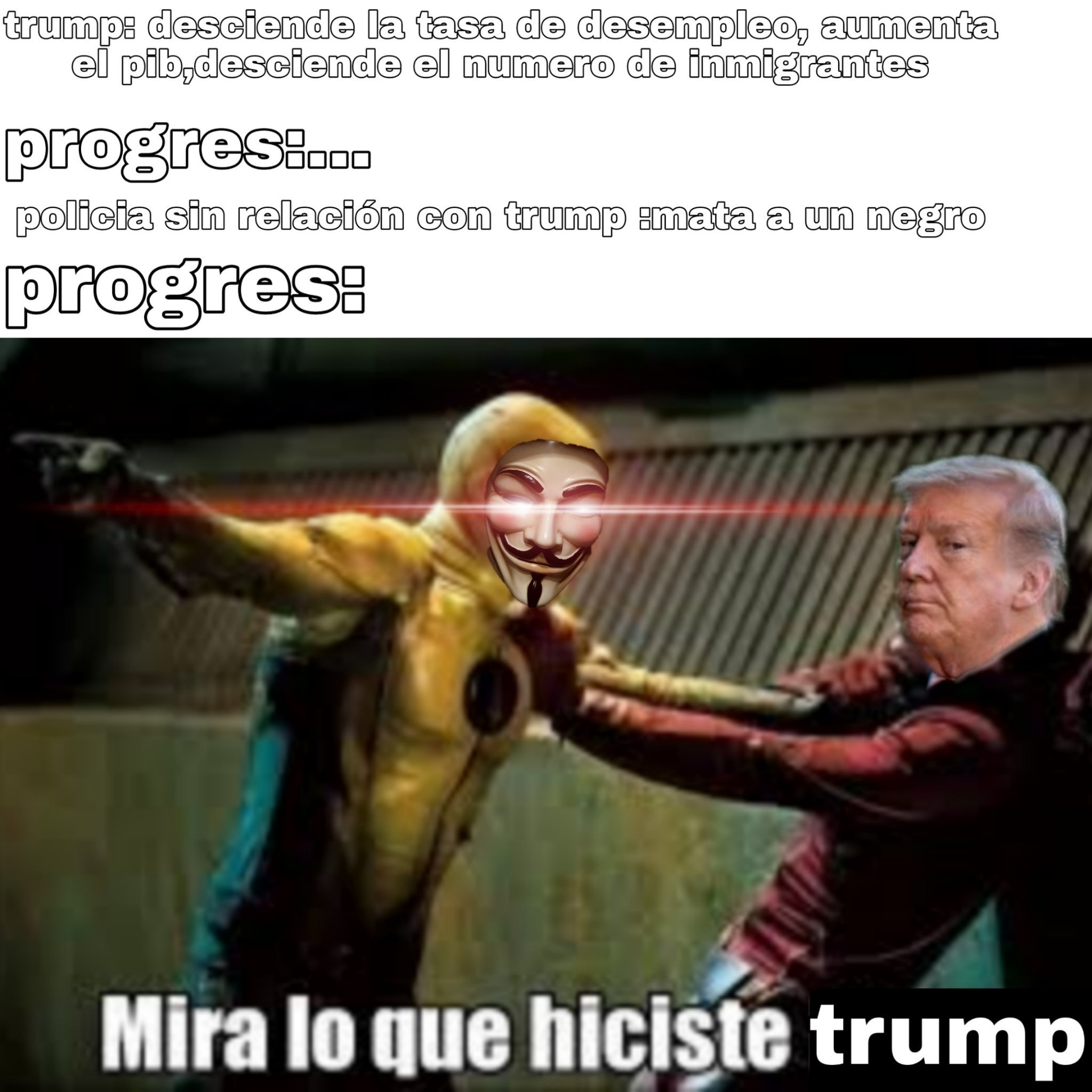 Anonymus resumido - meme
