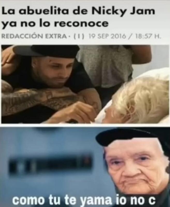 NickyJam - meme