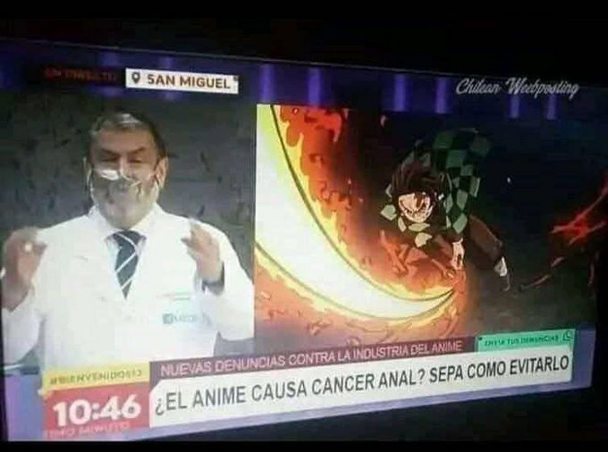 No vean anime :( - meme