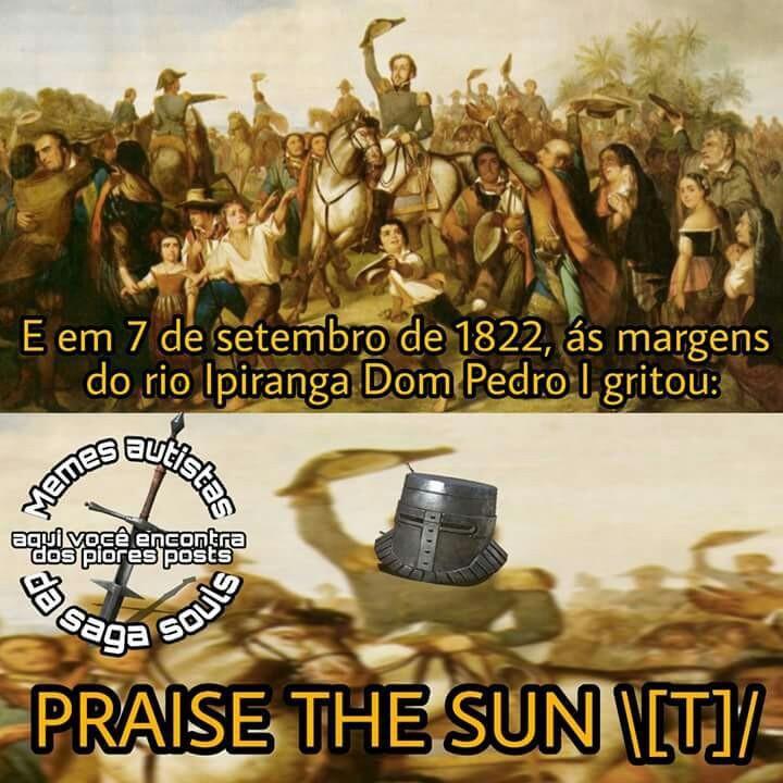 Não esquecendo de homenagear nosso querido país nesse meme  -Gênesis