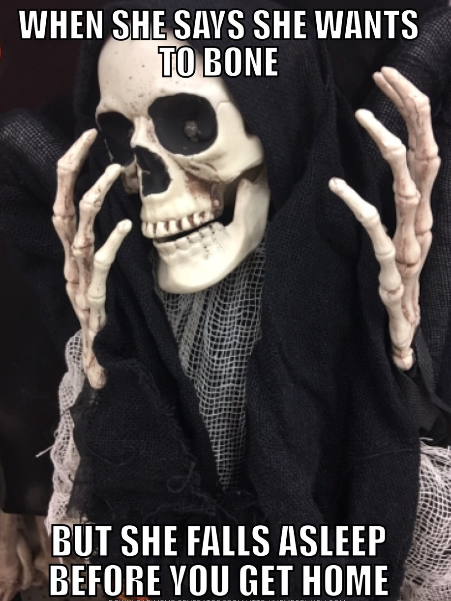 no bone tonight - meme