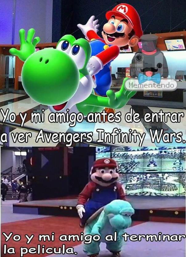 Ya paren con sus memes de IW >:V