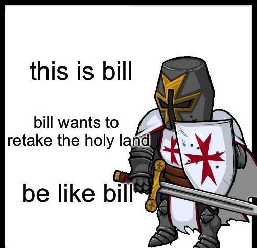 FOR THE HOLY LAND - meme