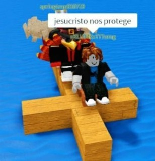Jesus nos protege - meme
