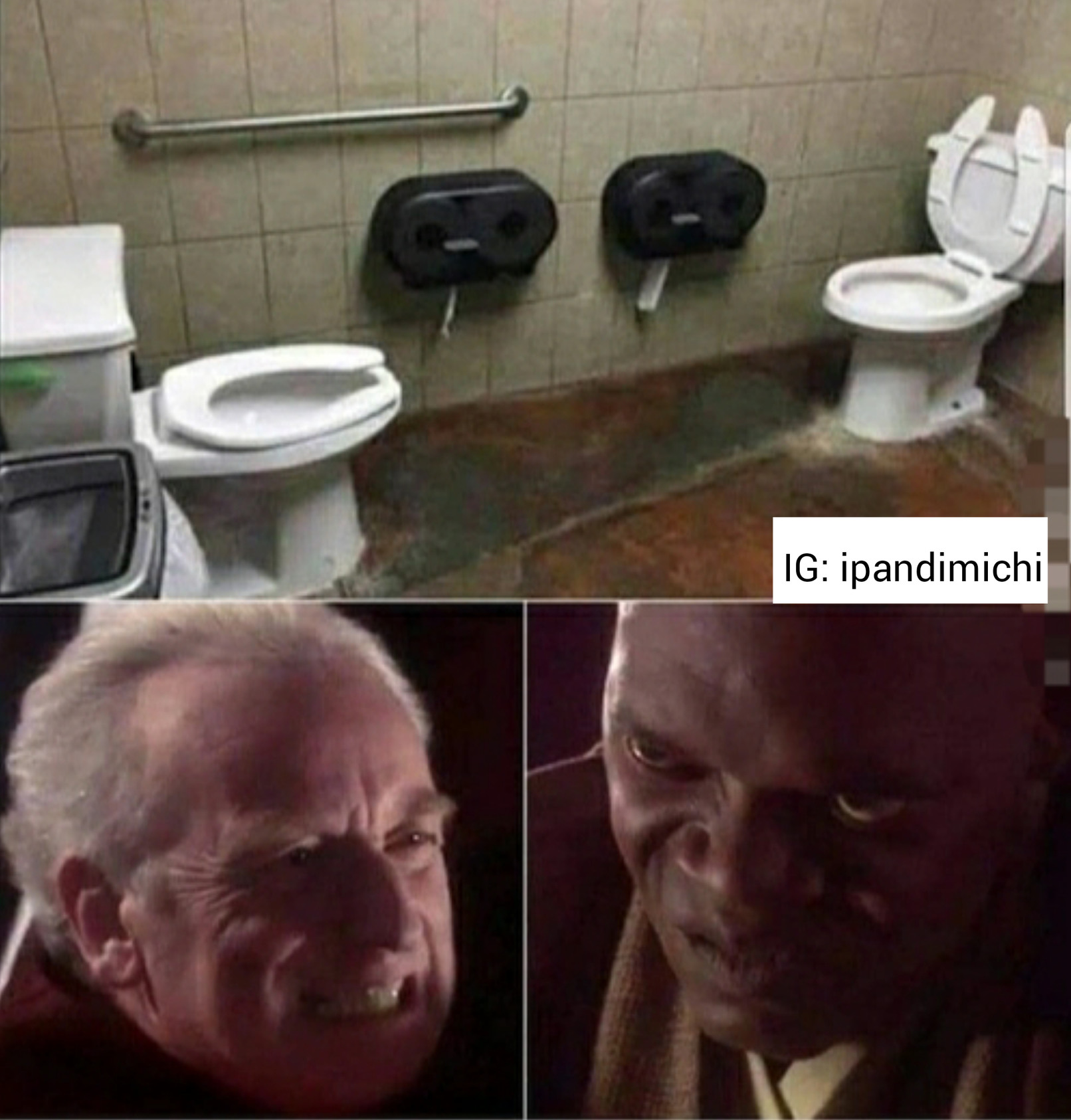 SI LOS BAÑOS FUERAN ASI JSJSA - meme