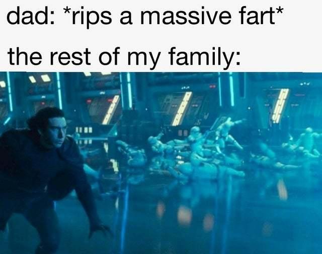 Massive fart - meme