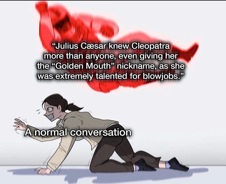 golden mouth - meme