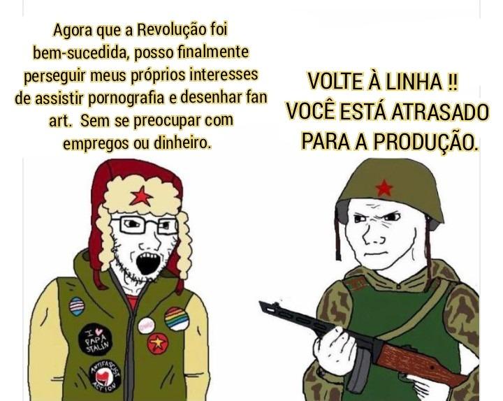 Revolução - meme