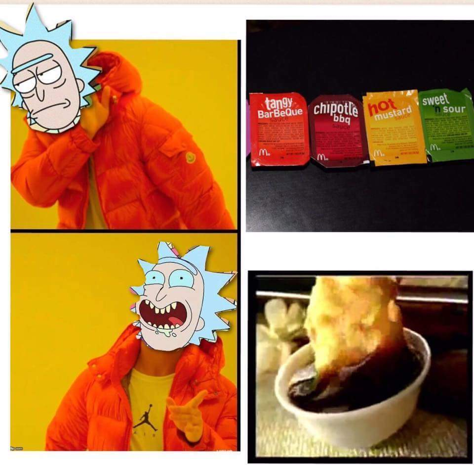 That new episode of Rick & morty - meme