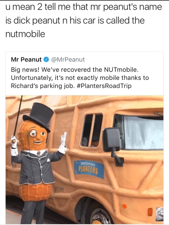 if it were a bus he could bus a nut - meme