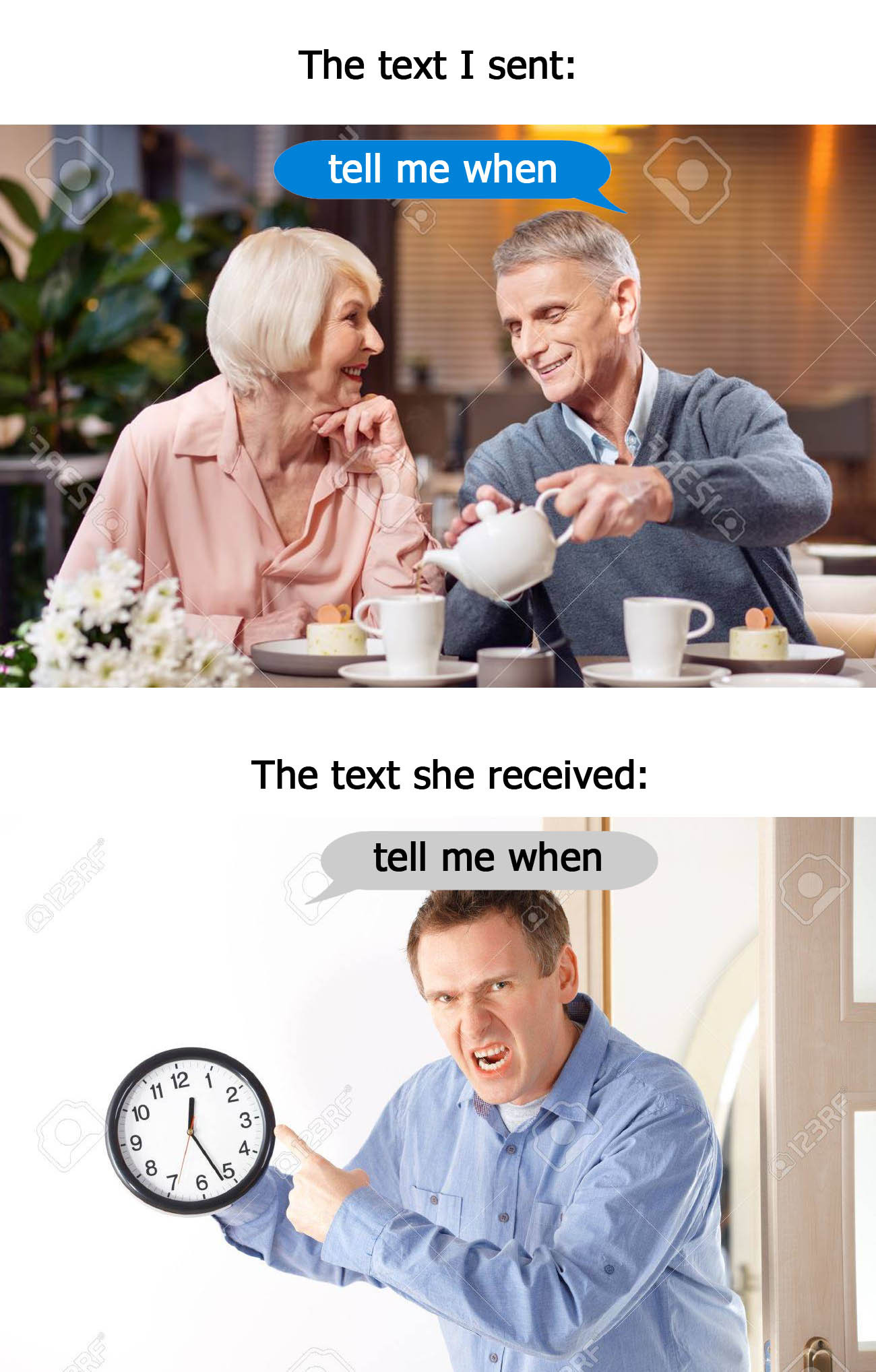 """I kid you not, this text message escalated into a serious argument. And by """"argument,"""" I mean """"me getting yelled at while nothing I said mattered."""" - meme"""